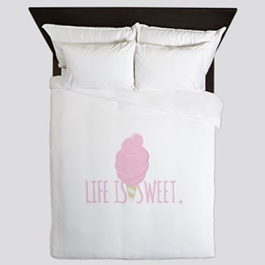 Life Is Sweet Queen Duvet