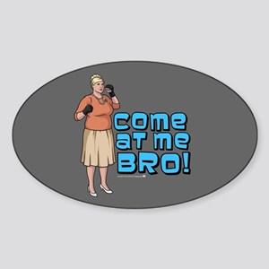 Archer Bro Sticker (Oval)