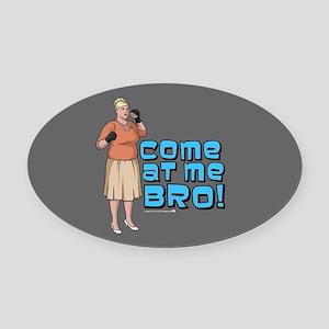 Archer Bro Oval Car Magnet