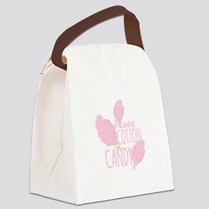 Love Cotton Candy Canvas Lunch Bag