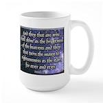 Daniel 12:3 Large Mug