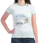 Where Are The Sheep? v2 Jr. Ringer T-Shirt