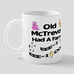 Old McTrevor Had a Farm Mug