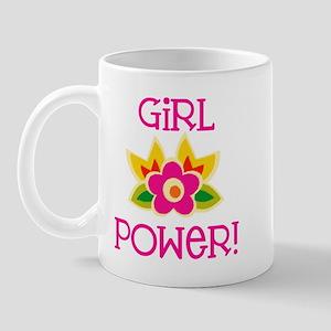 Flower Girl Power Mug