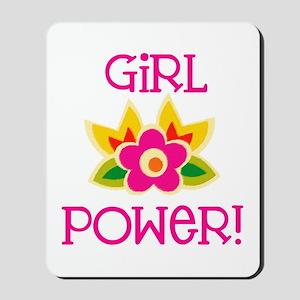 Flower Girl Power Mousepad