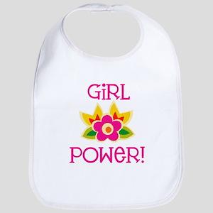 Flower Girl Power Bib