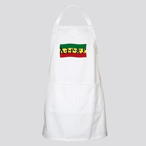 ETHIOPIA -- Amharic with Flag BBQ Apron
