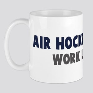 Air Hockey First Mug