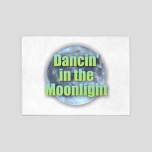 Dancin'in the Moonlight 5'x7'Area Rug