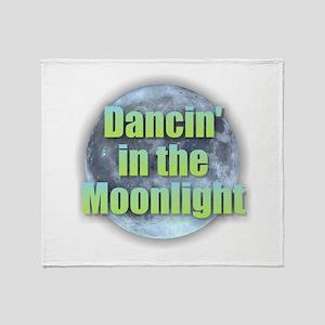 Dancin'in the Moonlight Throw Blanket