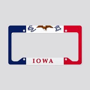 Iowa License Plate Holder