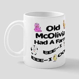 Old McOlivia Had a Farm Mug