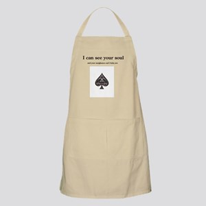I can see your soul BBQ Apron