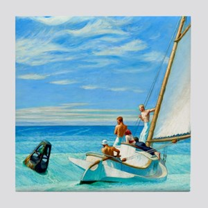 Ground Swell by Edward Hopper Tile Coaster