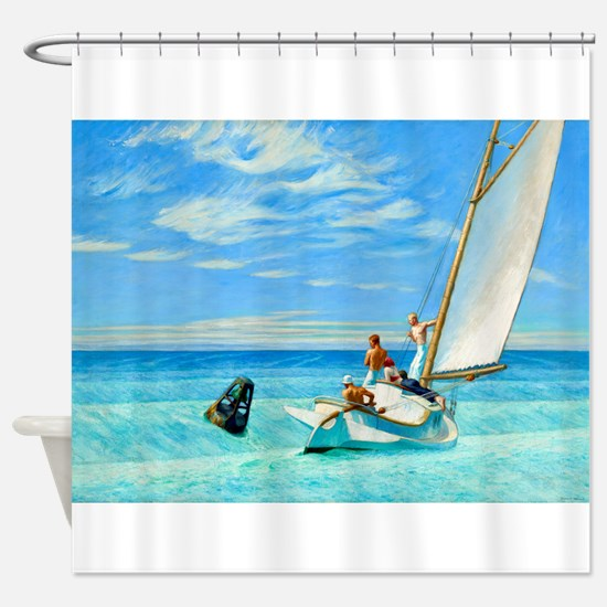 Ground Swell by Edward Hopper Shower Curtain