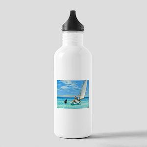 Ground Swell by Edward Hopper Water Bottle