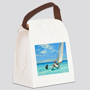 Ground Swell by Edward Hopper Canvas Lunch Bag