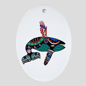 TRIBUTE Oval Ornament