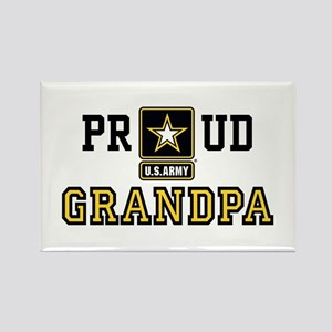 Proud U.S. Army Grandpa Rectangle Magnet