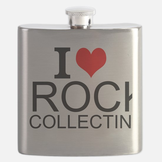 I Love Rock Collecting Flask