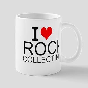 I Love Rock Collecting Mugs
