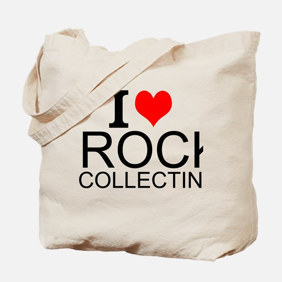 I Love Rock Collecting Tote Bag