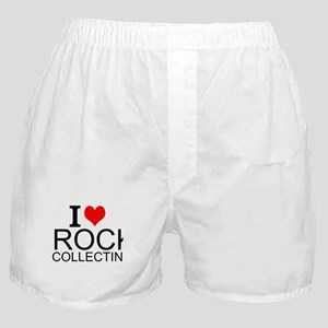 I Love Rock Collecting Boxer Shorts
