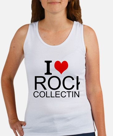I Love Rock Collecting Tank Top
