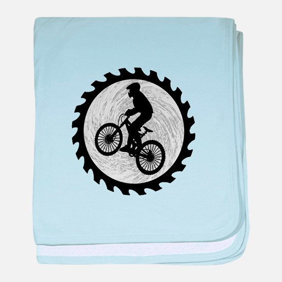 RIDE baby blanket
