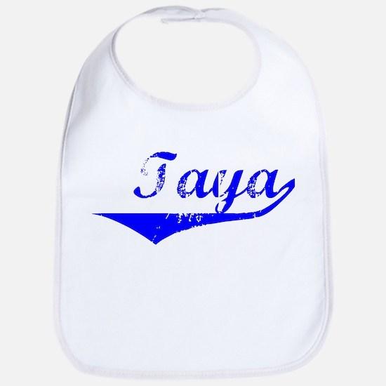 Taya Vintage (Blue) Bib
