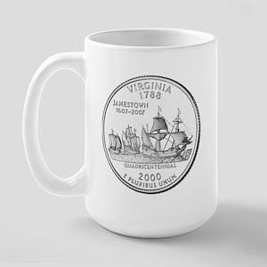 Virginia State Quarter Large Mug
