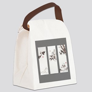 japanese Canvas Lunch Bag
