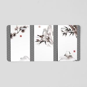 japanese Aluminum License Plate