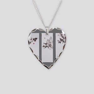 japanese Necklace Heart Charm