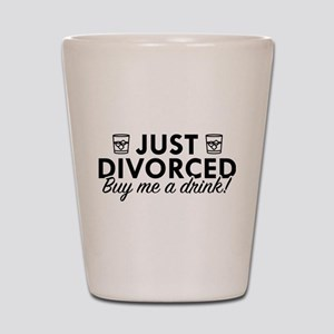 Just Divorced Shot Glass