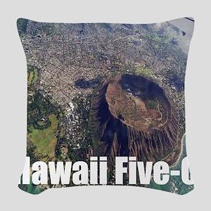 Hawaii Five 0 Woven Throw Pillow