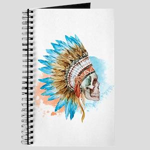 Skull Headdress Journal