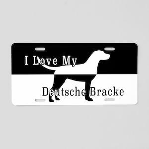 Deutsche Bracke Aluminum License Plate