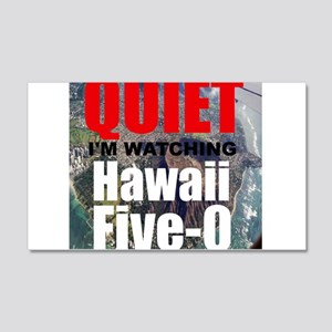 Quiet Im Watching Hawaii Five 0 Wall Decal