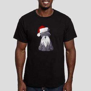 Santa Schnauzer T-Shirt