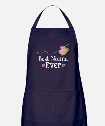 Best Nonna Ever gift Apron (dark)