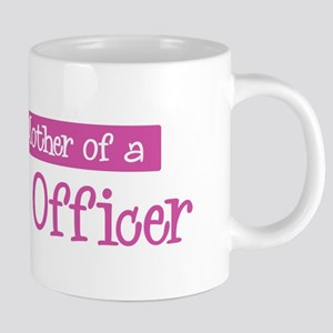 Proud Mother of Police Office Mugs