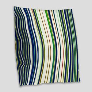 Abstract 130716(06) Burlap Throw Pillow