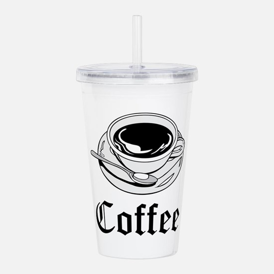 Coffee Acrylic Double-wall Tumbler