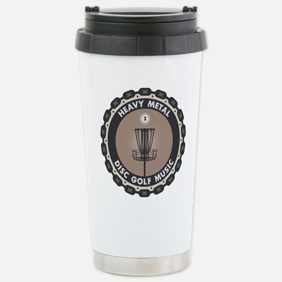 Disc Golf Chains Travel Mug