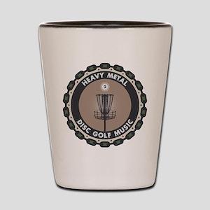 Disc Golf Chains Shot Glass
