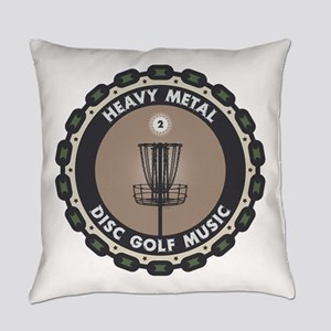 Disc Golf Chains Everyday Pillow