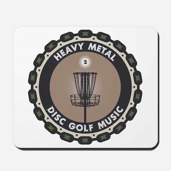 Disc Golf Chains Mousepad