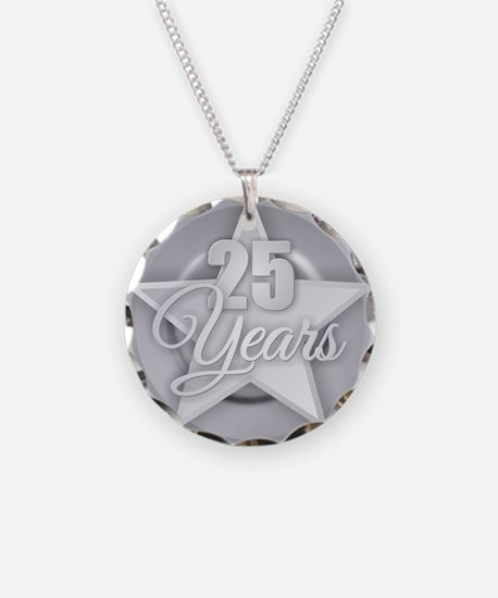 25 Years Necklace