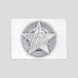 25 Years 5'x7'Area Rug